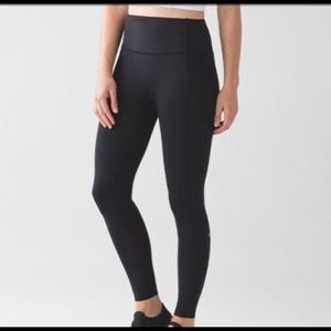 Black Lululemon Leggings Size 6